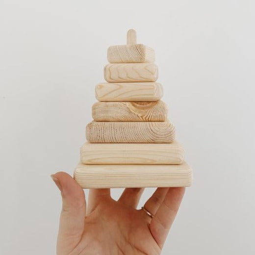 Wooden Stacking Tower Toy