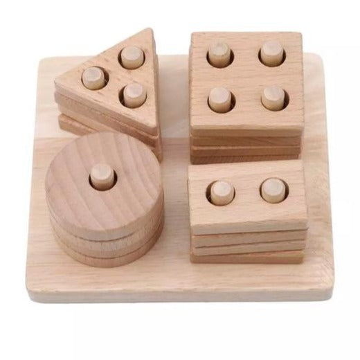 Wooden Shape Sorting Toy
