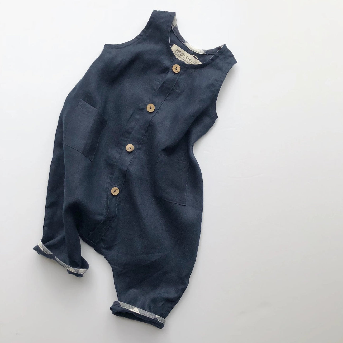 Riley Overall - Navy