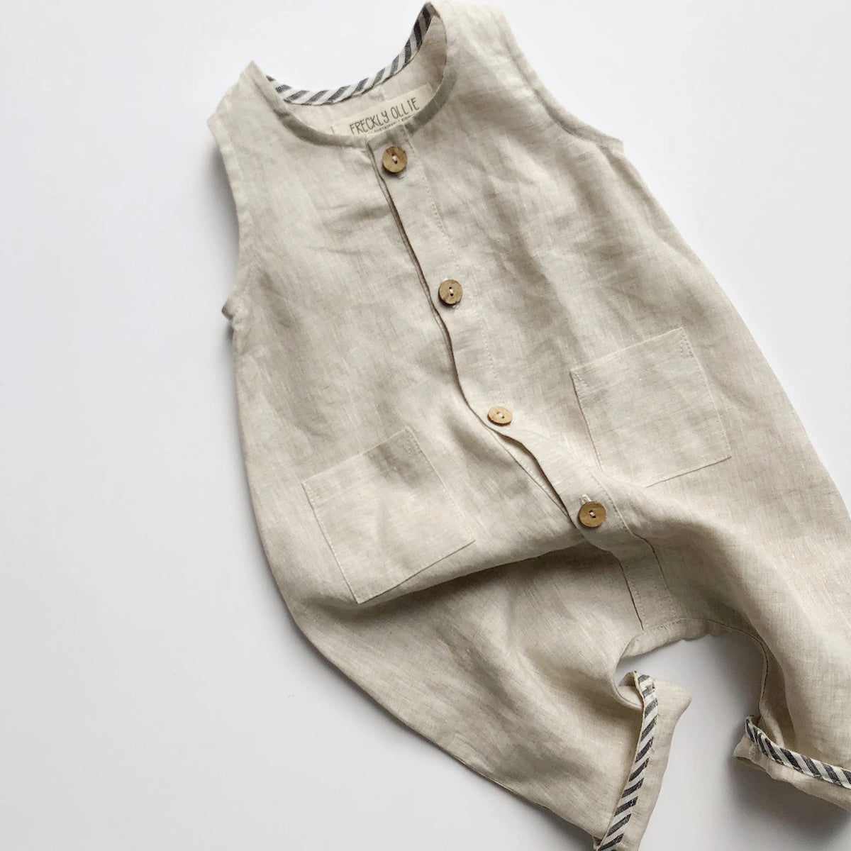 Riley Overall | Stone | Back-order
