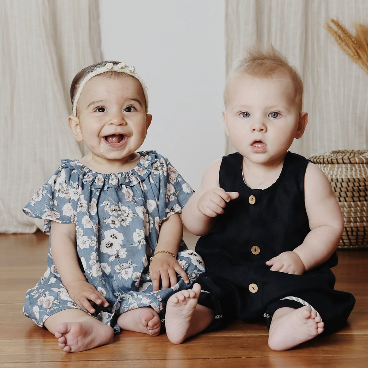 Riley Overall Navy | 3Mth - 1Yr