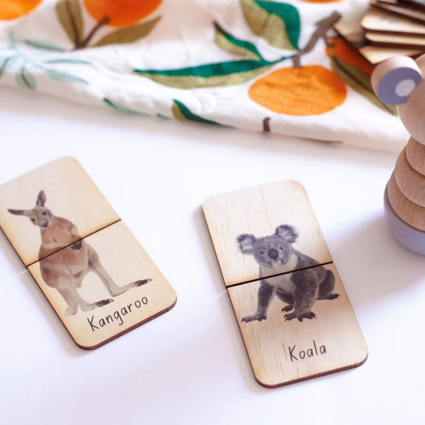 Australian Furry Animals Matching Puzzles | 18 Pieces