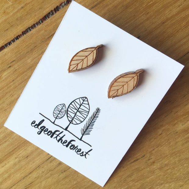 Earrings | Leaf