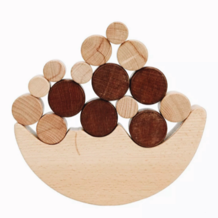 Wooden Moon Balancing Toy