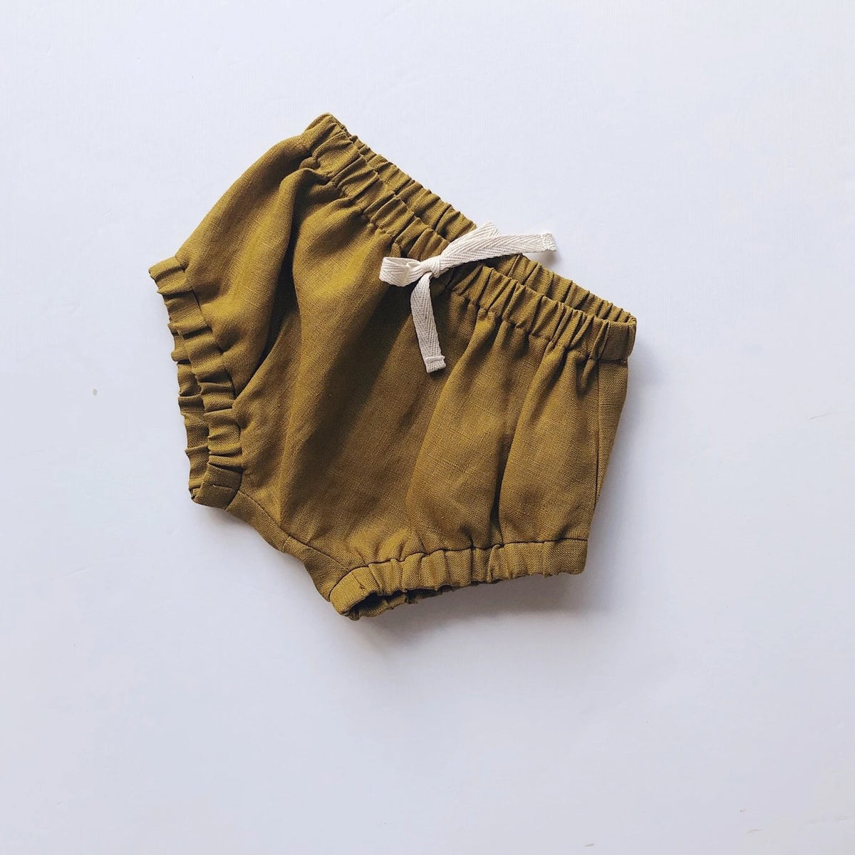 Blair Shorties | Golden Linen