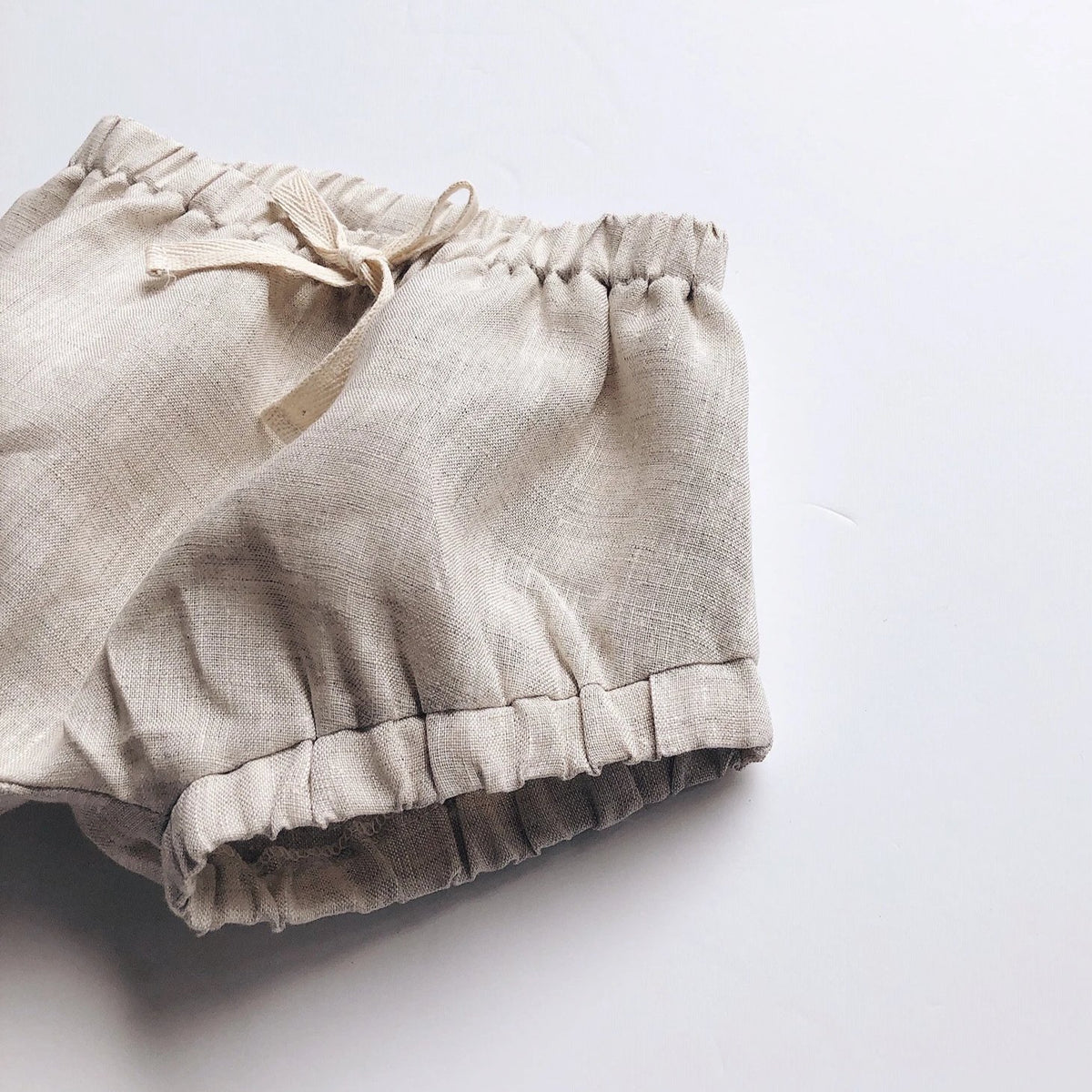 Blair Shorties | Stone Linen