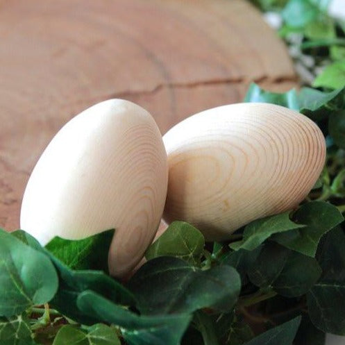 Wooden Duo Egg Shakers Toy