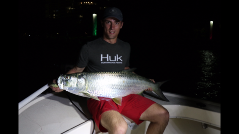 Miami Tarpon fishing report 3-5 with a nice double header