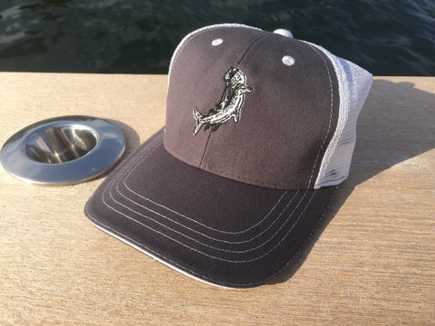 Leaping Tarpon Trucker Hat