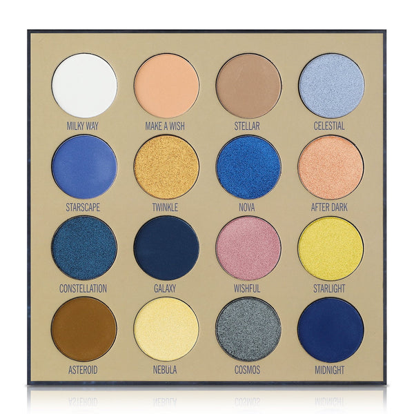 Lurella 'Wishing on a Star' 16 Color Eyeshadow Pakette Cosmetic Wholesale-Cosmeticholic