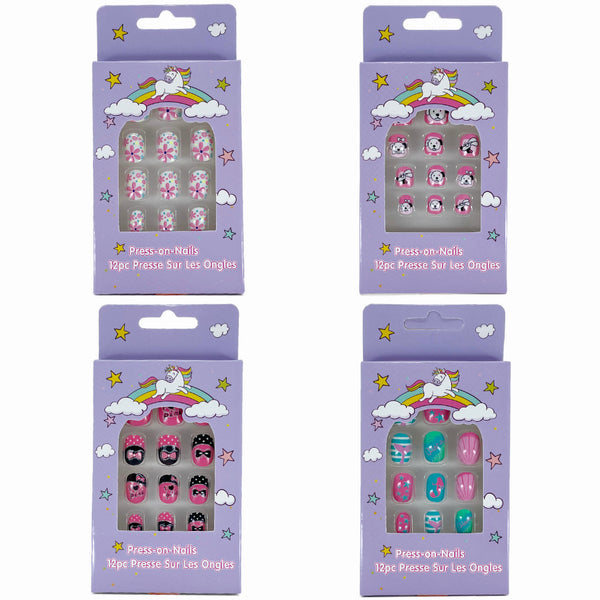 AAT-0613 : Press On Kids Nails 1 DZ