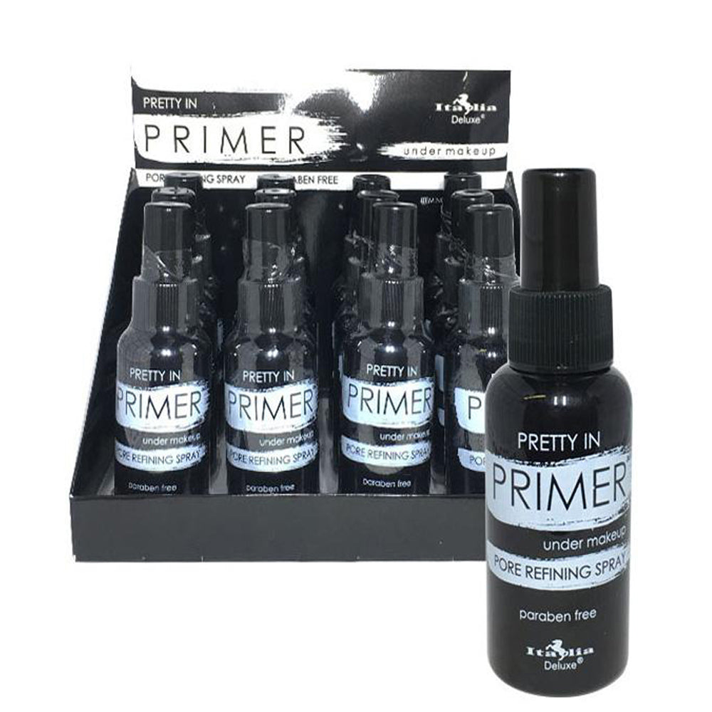 101-1 Italia Deluxe Pretty In Primer Spray Wholesale-Cosmeticholic
