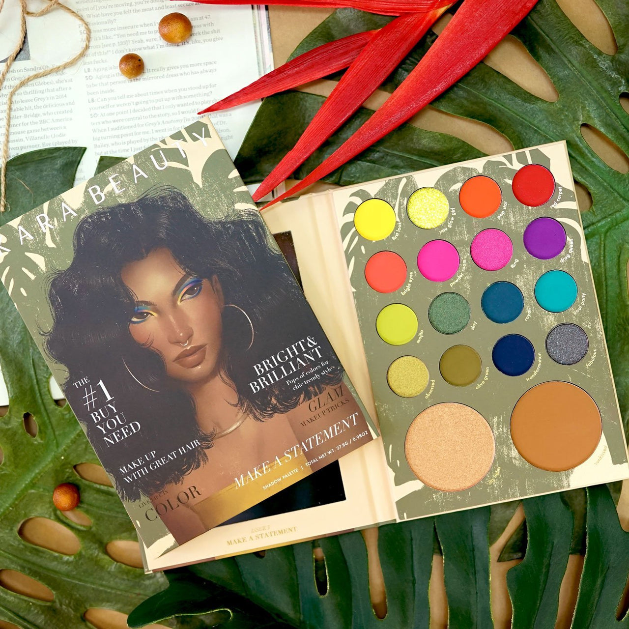 Kara ES102 Magazine Palette Issue3-Make A Statement