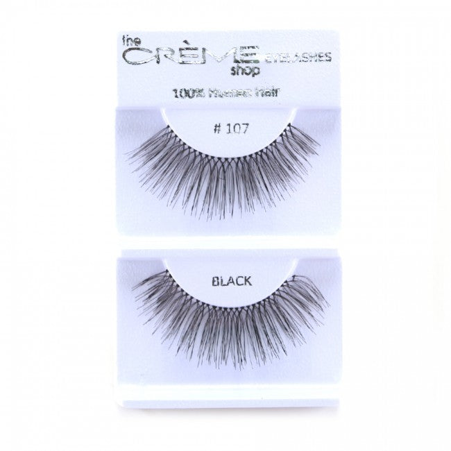 The Creme Shop 100% Human Hair Eyelashes #107 Wholesale - Cosmeticholic