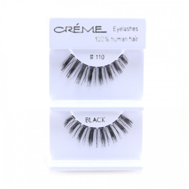 The Creme Shop 100% Human Hair Eyelashes #110 Wholesale - Cosmeticholic