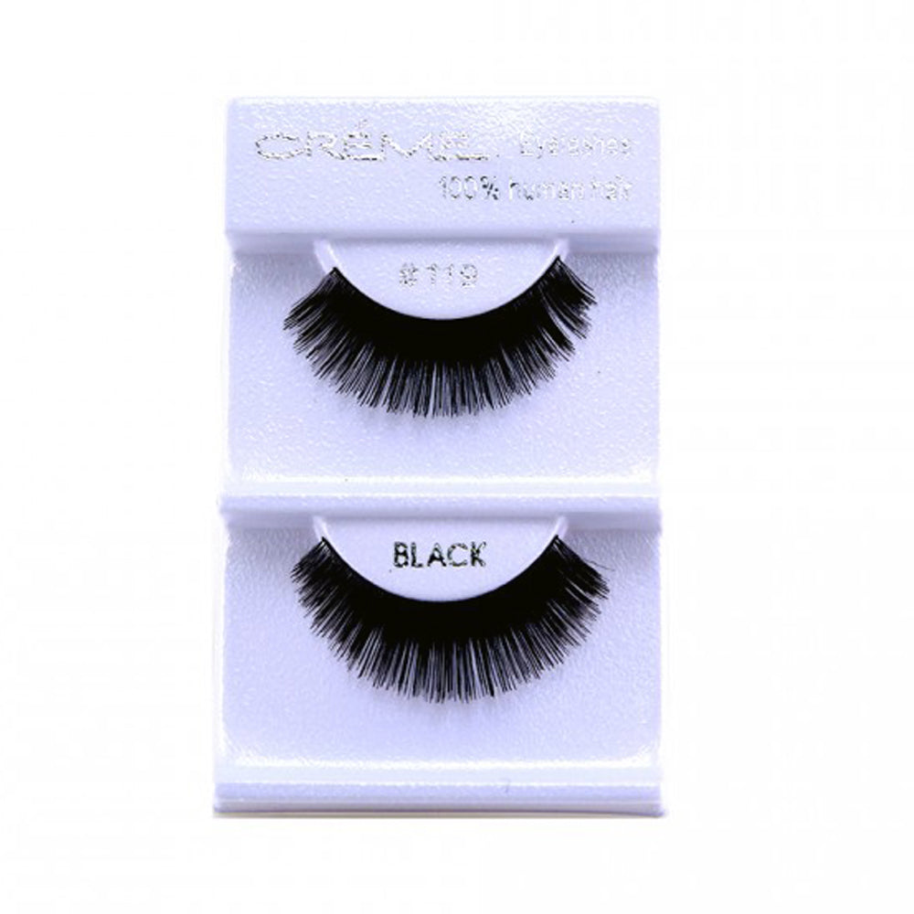 The Creme Shop 100% Human Hair Eyelashes #119 Wholesale - Cosmeticholic