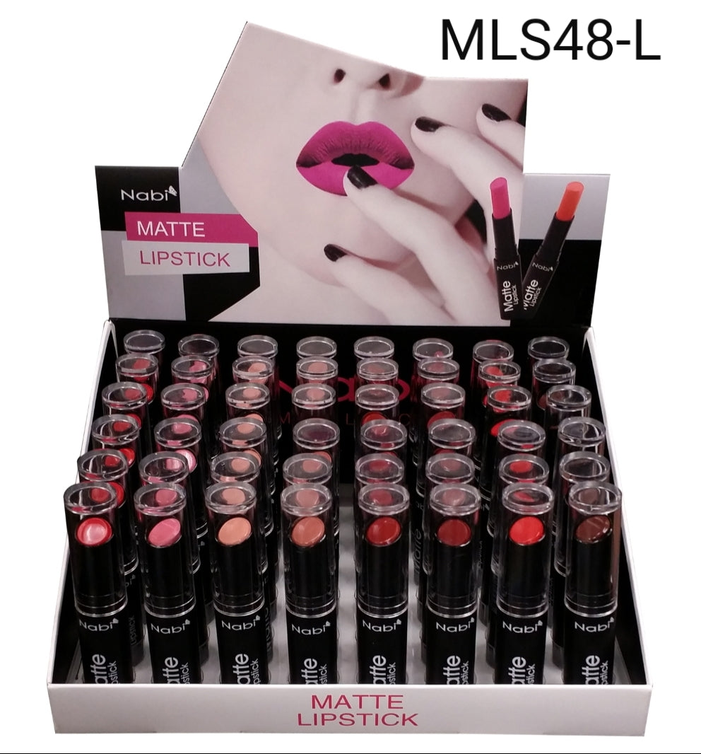 NB-MLS48-L : Matte Lipstick 8 Color Set 4 DZ