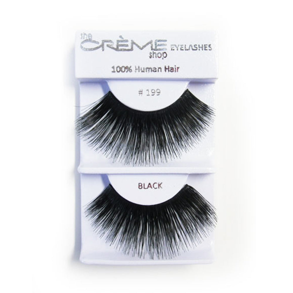 The Creme Shop 100% Human Hair Eyelashes #199 Wholesale - Cosmeticholic