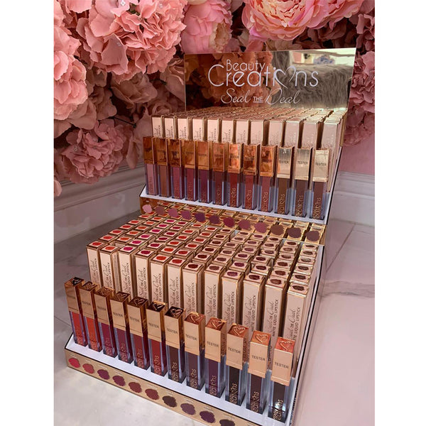 Beauty Creations Seal The Deal Matte Liquid Lipstick Display Set Wholesale-Cosmeticholic