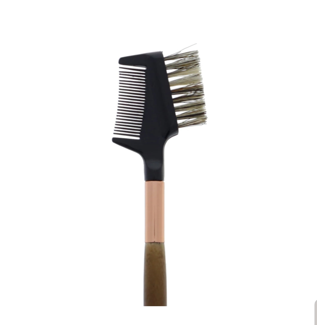 AM-BR117 : Premium Eyelash & Brow Comb Brush