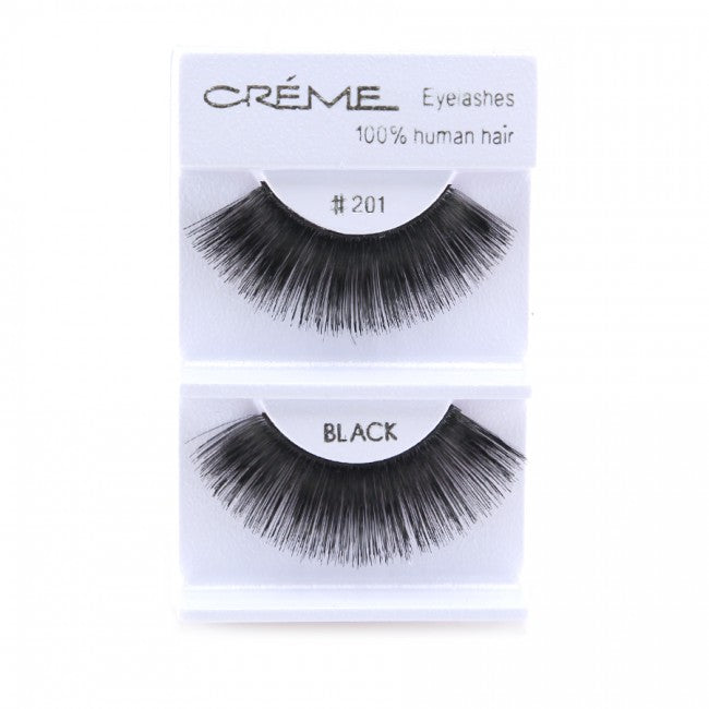 The Creme Shop 100% Human Hair Eyelashes #201 Wholesale - Cosmeticholic