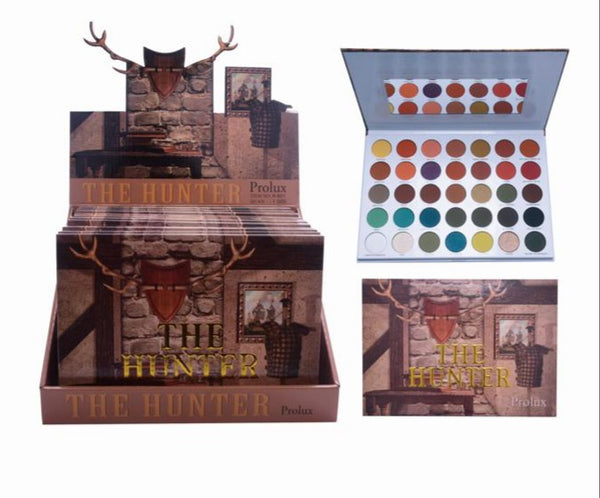 PX-K651 : The Hunter' 35 Color Eyeshadow Palette 6 PC