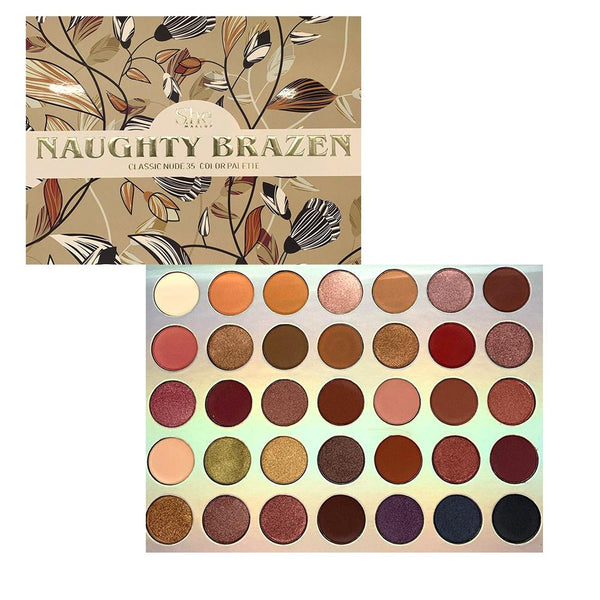 She Makeup SP01 : Naughty Brzen Classic Nue Palette Wholesale-Cosmeticholic