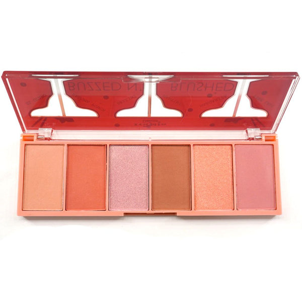 ITA-3006-2 : Buzzed N' Blushed-Blush & Highlighter Palette 1 DZ