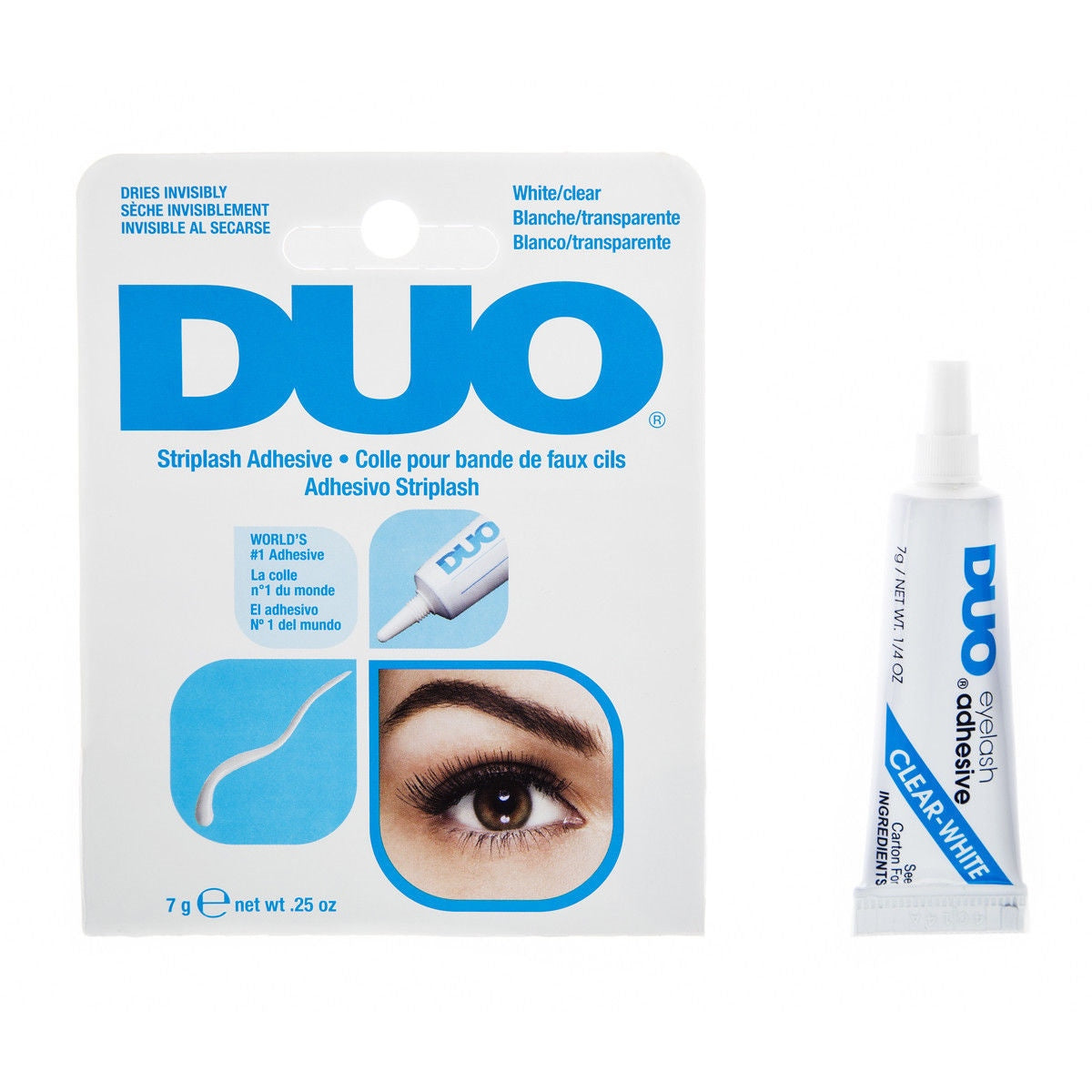DUO-568034 : Striplash Adhesive White/Clear 6 PC