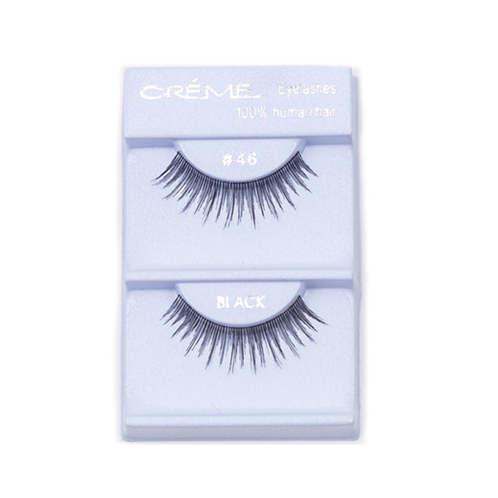 The Creme Shop 100% Human Hair Eyelashes #46 Wholesale - Cosmeticholic