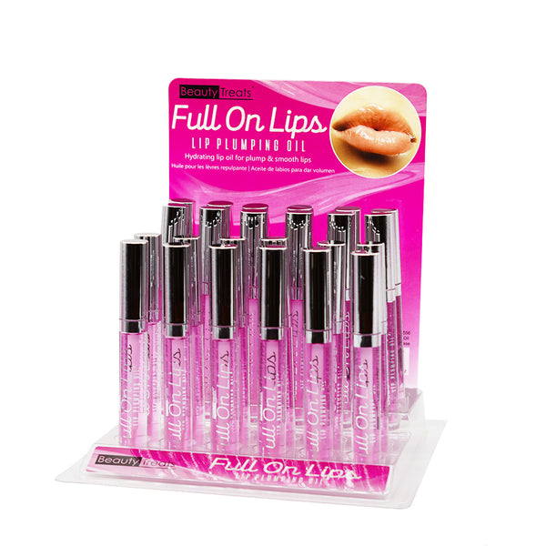 Beauty Treats 556 Full On Lips Lip Plumping Oil Cosmetic Wholesale-Cosmeticholic