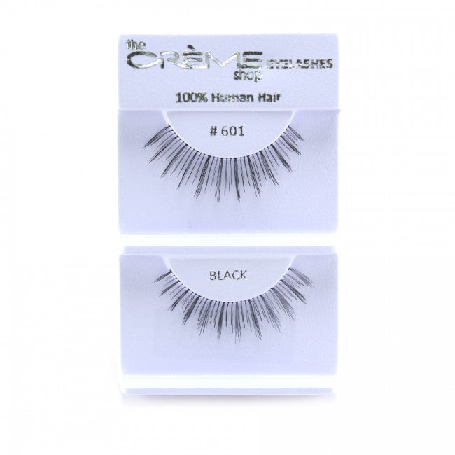 The Creme Shop 100% Human Hair Eyelashes #601 Wholesale - Cosmeticholic