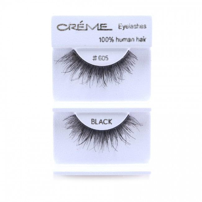 The Creme Shop Eyelashes #605 100% Human Hair Wholesale - Cosmeticholic