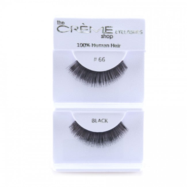 The Creme Shop Human Hair Eyelashes 66 Lowest Wholesale Price