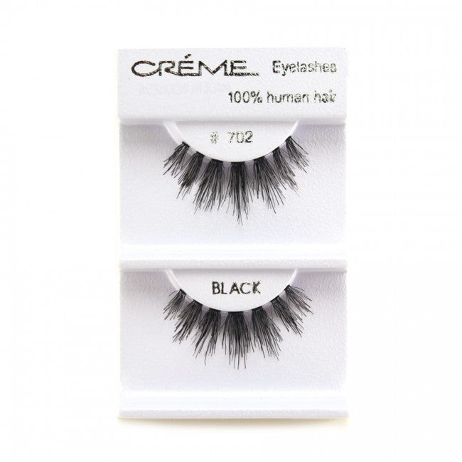 The Creme Shop 100% Human Hair Eyelashes #702 Wholesale - Cosmeticholic