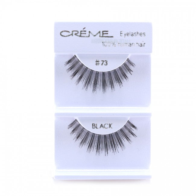 The Creme Shop 100% Human Hair Eyelashes #73 Wholesale - Cosmeticholic