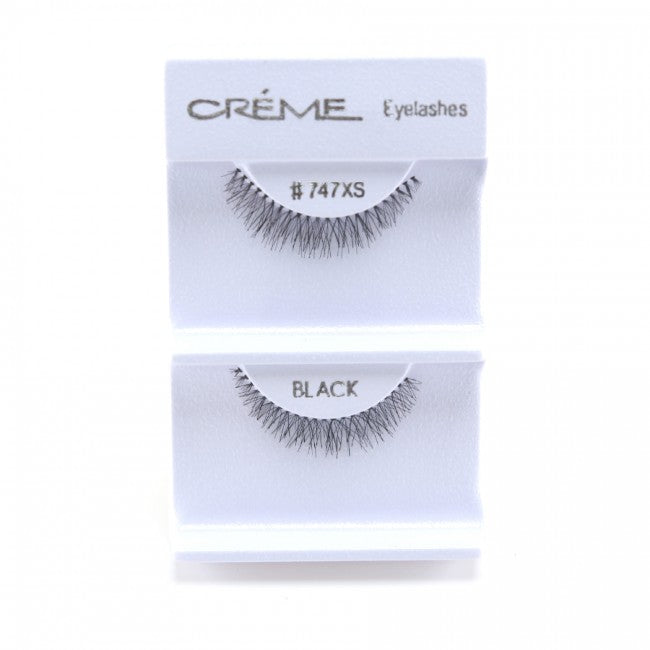 The Creme Shop Eyelashes #747XS 100% Human Hair Wholesale - Cosmeticholic