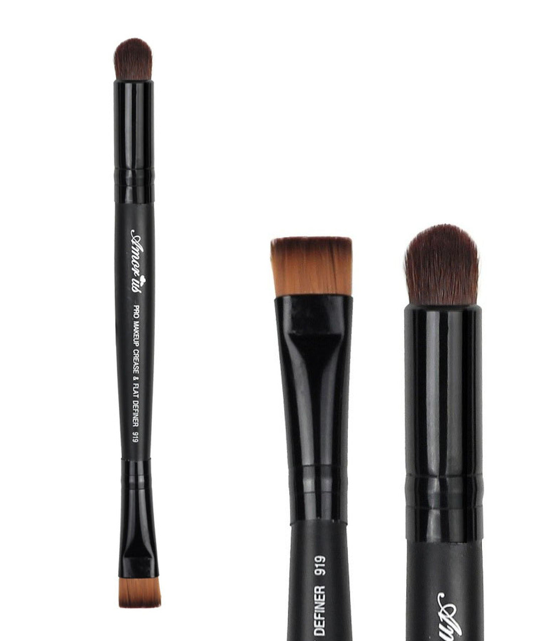 AM-BR919 : Professional Deluxe Crease & Flat Definer Brush 1 DZ