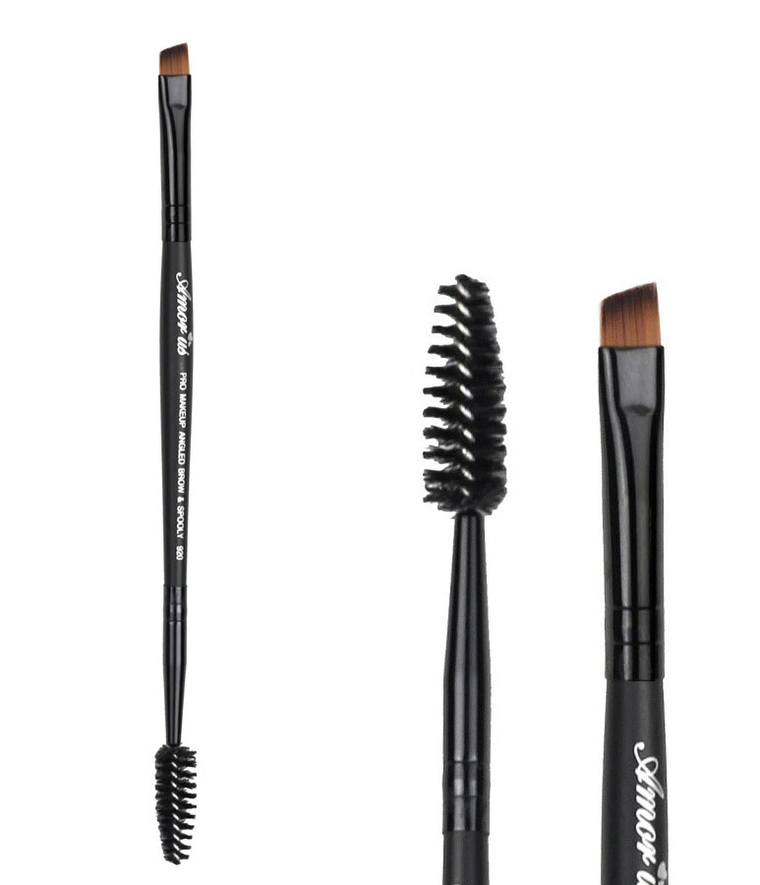 AM-BR920 : Professional Deluxe Duo Brow & Liner Brush 1 DZ