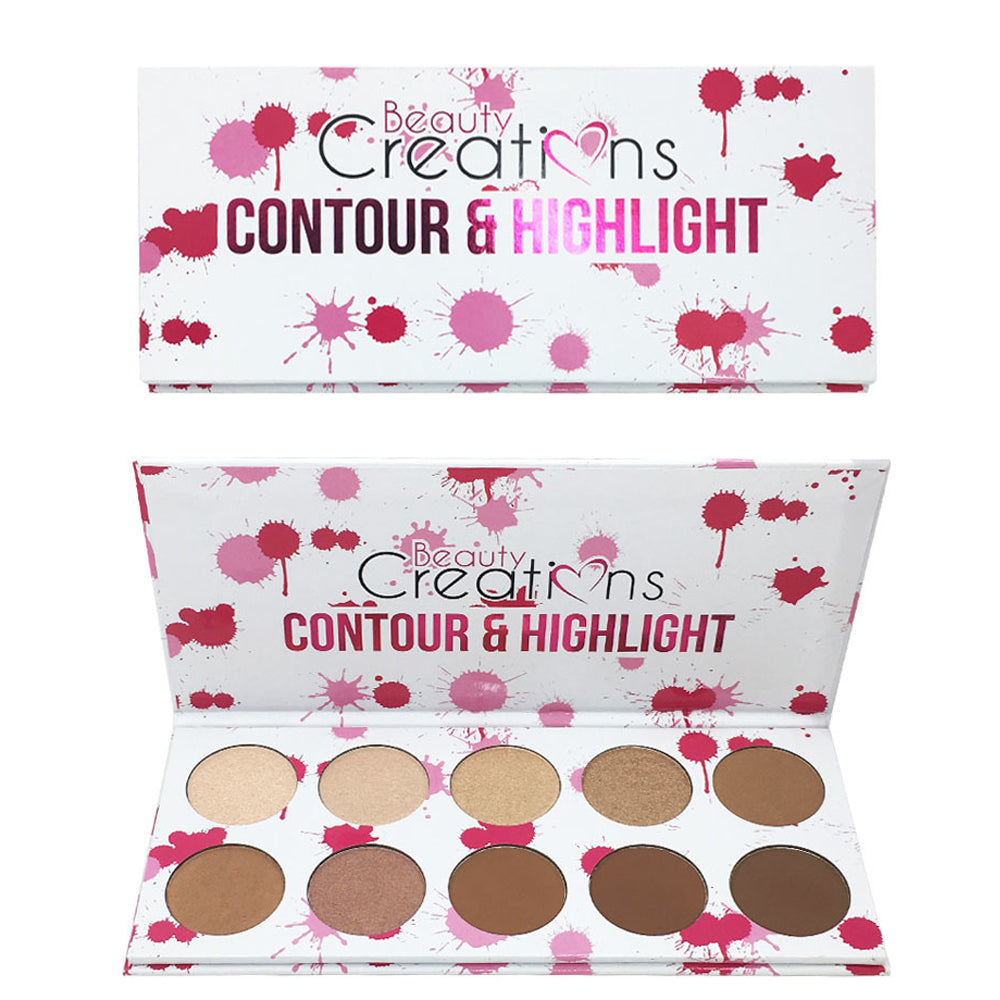 Beauty Creations Contour & Highlight Palette 10GH Wholesale-Cosmeticholic
