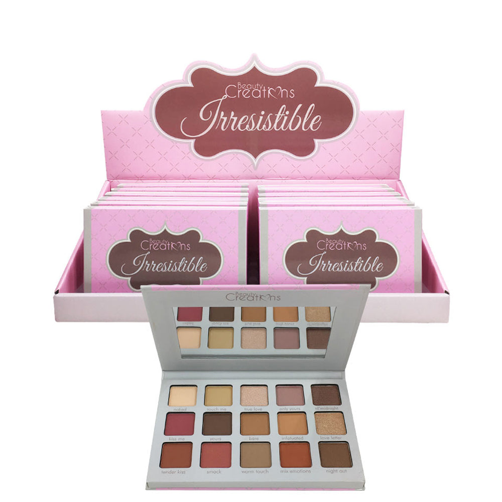 E15A Beauty Creations Irresistible Eyeshadow Palette Wholesale-Cosmeticholic