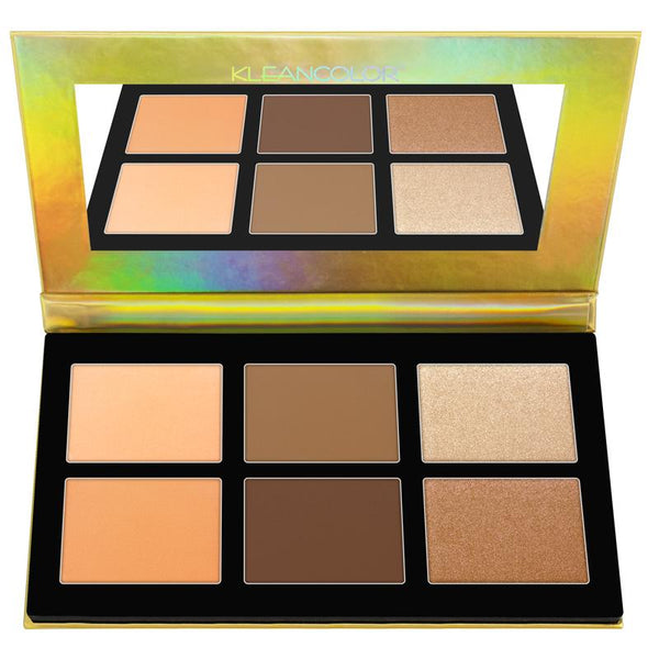 BH740-1 : Kleancolor Sculpt & Glow Kit Wholesale-Cosmeticholic