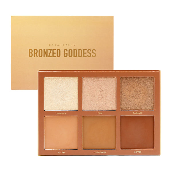Kara HL20 : Bronzed Goddess-Highlight & Bronzer Wholesale-Cosmeticholic