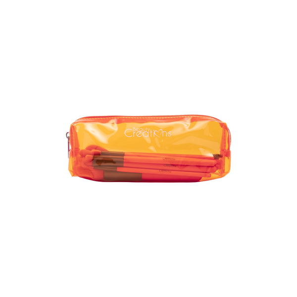 Beauty Creations Dare To Be Bright BOSSY Neon Orange Brushe Set Cosmetic Wholesale-Cosmeticholic
