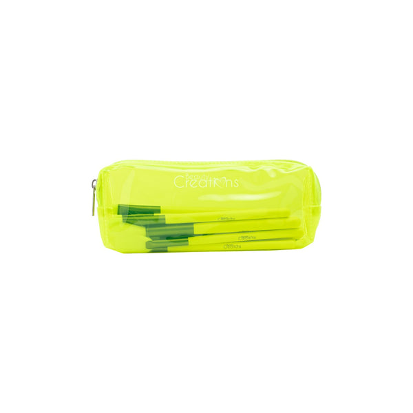 Beauty Creations Dare To Be Bright BOUJEE Neon Yellow Brushe Set Cosmetic Wholesale-Cosmeticholic