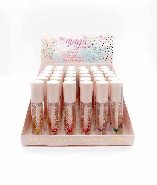 Italia Deluxe 175 24K Magic Lip Oil Cosmetic Wholesale-Cosmeticholic