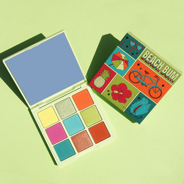 Kara Beauty ES123 Beach Bum Shadow Palette Cosmetic Wholesale-Cosmeticholic