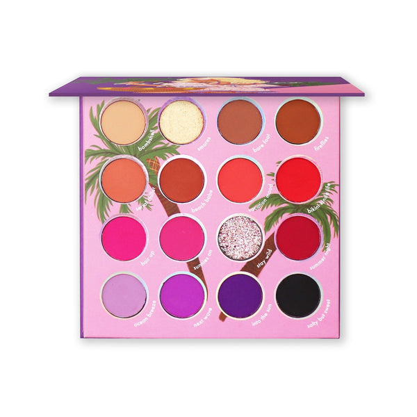 KR-ES90 : Girls Just Wanna Have Sun-16 Color Shadow Palette 6 PC