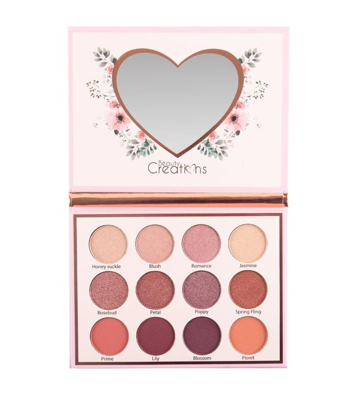 EP12 : Beauty Creations Floral Bloom Eye Bloom Palette Wholesale-Cosmeticholic