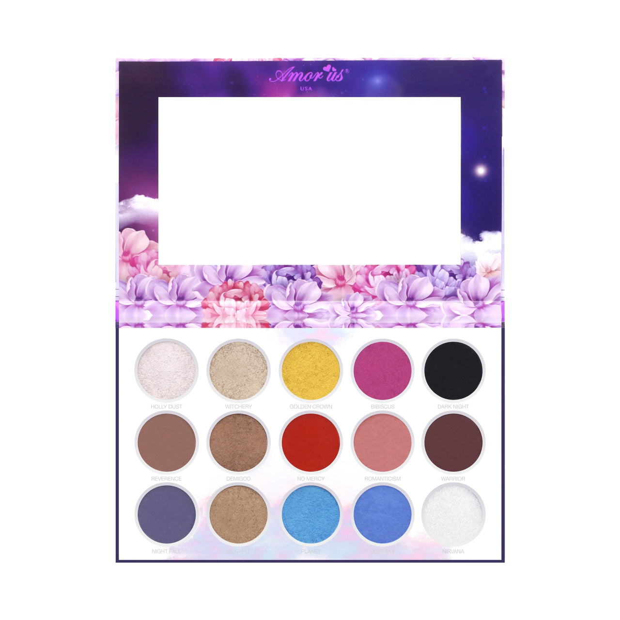 AM-HKESD : Hekate 15 Color Pressed Pigment Palette
